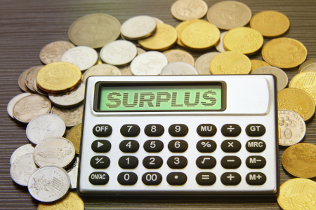 NH budget surplus