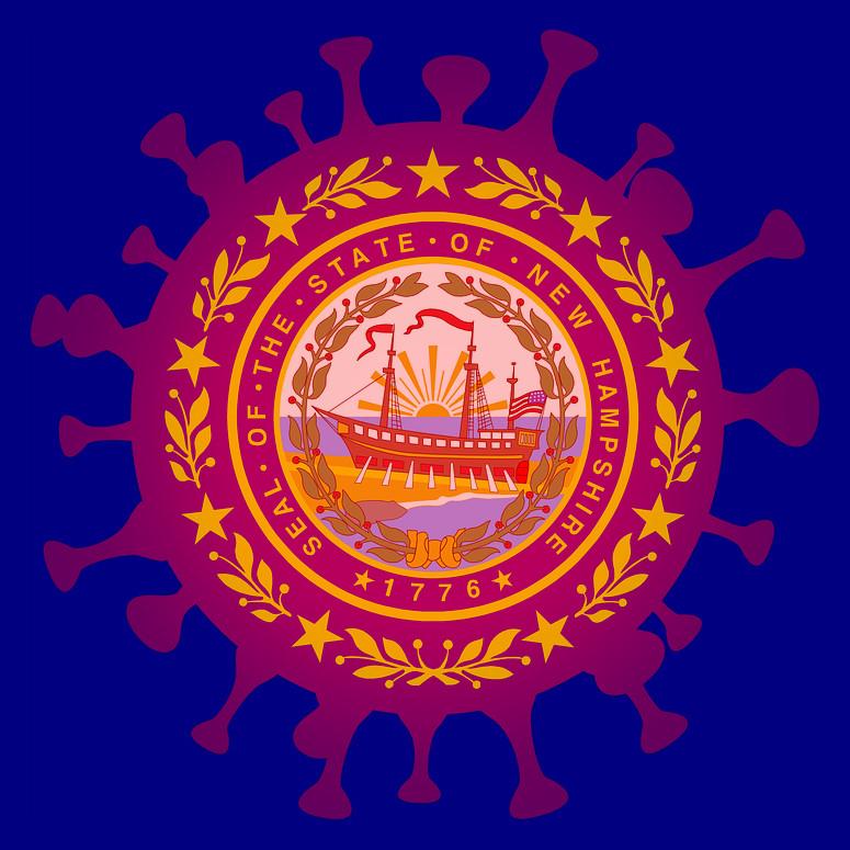 NH flag coronavirus