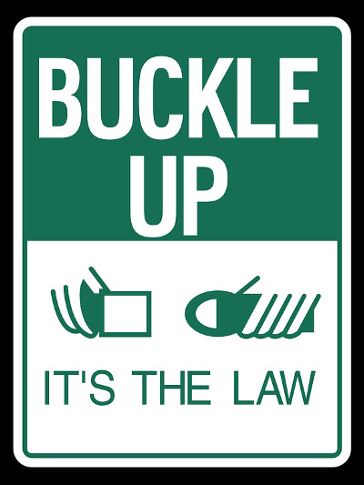 buckle up seat belt law