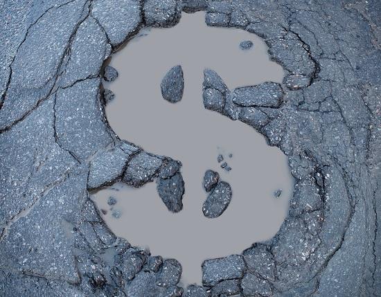 local road and bridge repair budget