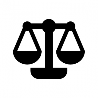 law justice scale icon