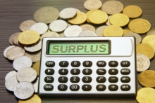 NH budget surplus
