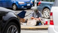 panhandling