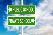 public school and private school vouchers