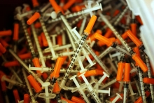 syringe and needle exchange program