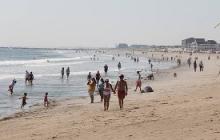 toplessness on Hampton beach