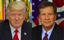 Trump and Kasich