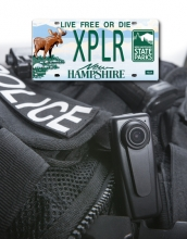 vanity plate and police body camera